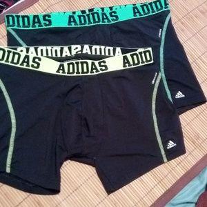 🆕 2 Men's Adidas's boxer briefs